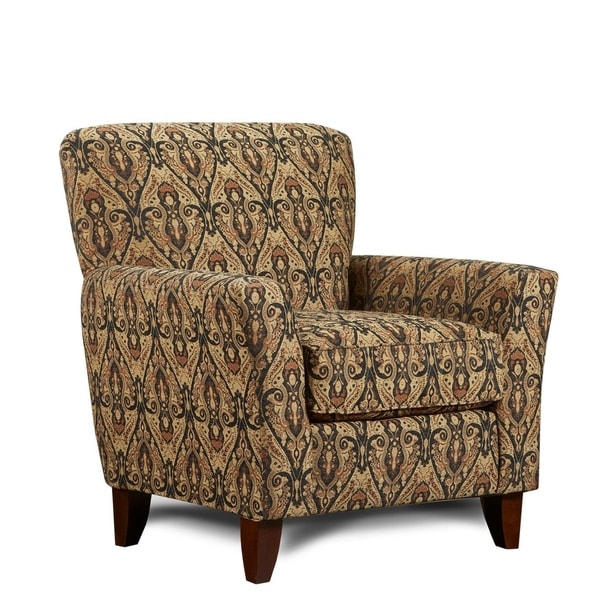 shop sofatrendz barnes black and gold accent chair free shipping today overstock 20685880. Black Bedroom Furniture Sets. Home Design Ideas