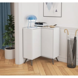 Link to Bestar Small Space Krom Corner Storage Unit Similar Items in Living Room Furniture