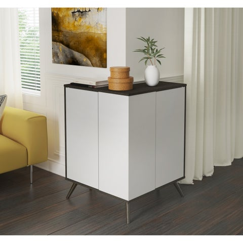 Bestar Small Space Krom Outer Corner Storage Unit