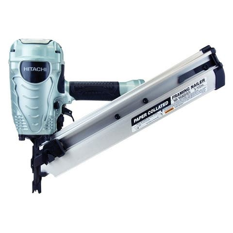 Hitachi Pneumatic Collated Paper Framing 35 Ga. Nail Gun