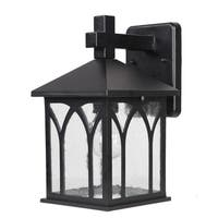 Acclaim Lighting Builder's Choice Collection 1-Light Outdoor Matte Black Wall Lantern