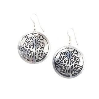 Handmade Tree of Life Earrings (India)