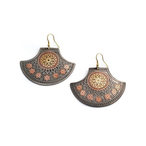 Handmade Rani of Jhansi Earrings (India)