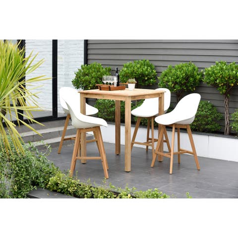 Hawaii Patio 5 Piece Sidestool Bar Set