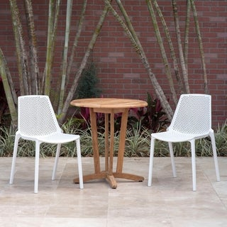 Isabela 3 Piece Round Table Patio Dining Set