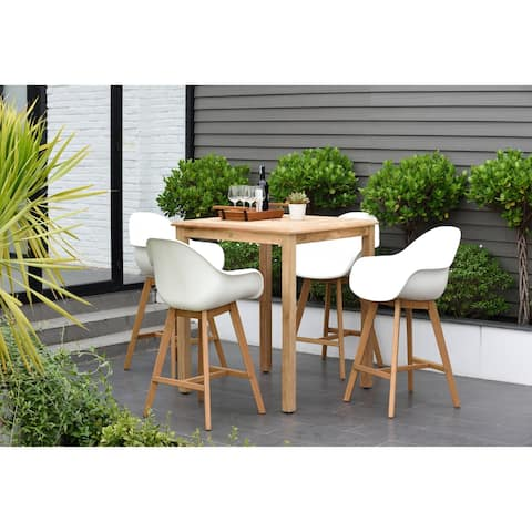 Hawaii Patio 5 Piece Bar Set