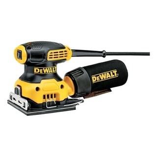 DeWalt 1/4 Sheet Sander 0.25 2.3 amps 120 volts Corded