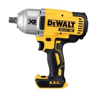 DeWalt XR 1/2 in. Square Cordless Impact Wrench (Bare Tool) Detent Pin Anvil 20 volts
