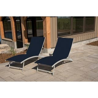 Blue Outdoor Chaise Lounges For Less Overstock