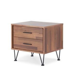Urban Designs Linear Collection 2-Drawer Nightstand