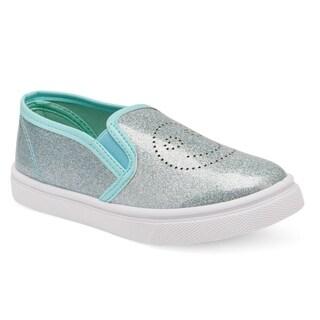Olivia Miller Girls Biquet Slip on Sneaker