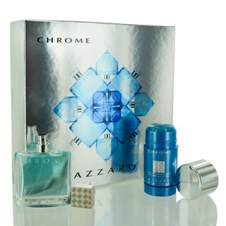 Azzaro Chrome Men's 2-piece Gift Set
