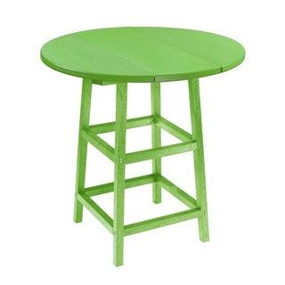 C.R. Plastics Generation 32 Round Table Top w/ 40 Pub Table Legs (Mint)