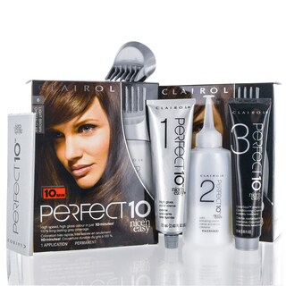 Clairol Perfect 10 Nice 'N Easy 6 Light Brown Chocolate Shake Kit