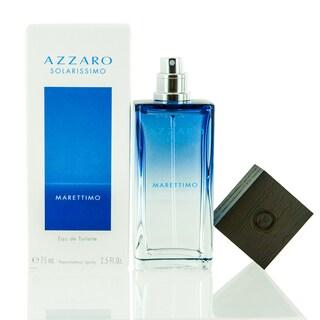 Azzaro Solarissimo Marettimo Men's 2.5-ounce Eau de Toilette Spray