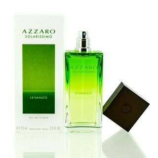Azzaro Solarissimo Levanzo Men's 2.5-ounce Eau de Toilette Spray