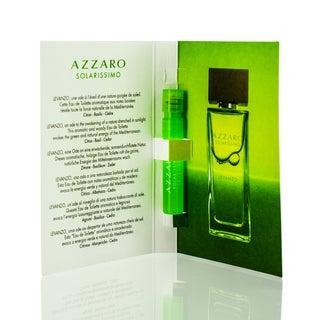 Azzaro Solarissimo Levanzo Men's 0.04-ounce Eau de Toilette Spray Vial