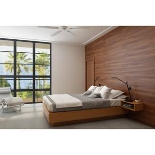 3D Reclaimed Rectangular DIY Peel and Stick Mixed Brown Wood Panels Plank Decor 10 Panels / 16sqft Per Box