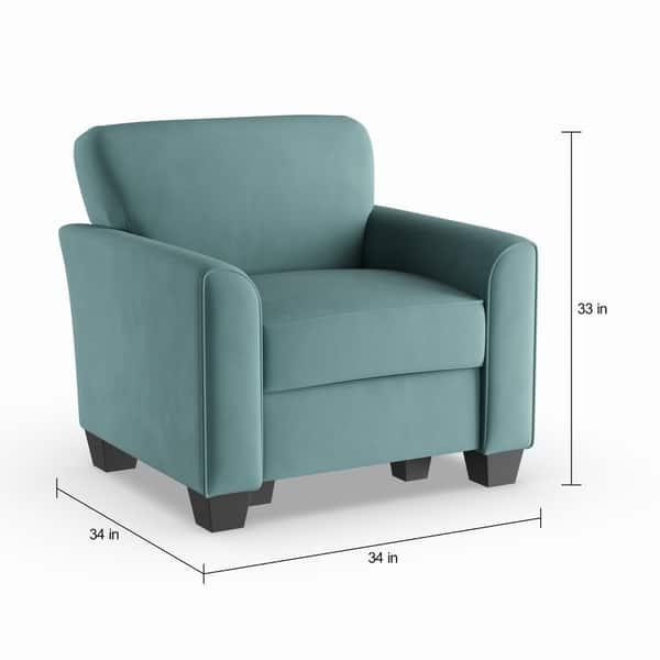 Awe Inspiring Shop Porch Den Kalamath Turquoise Velvet Arm Chair And Lamtechconsult Wood Chair Design Ideas Lamtechconsultcom