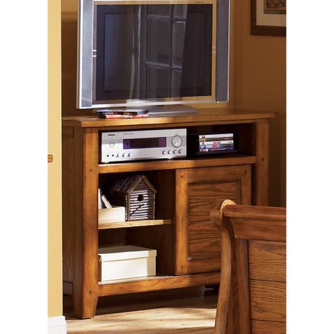 Copper Grove Epper Aged Oak Youth Media Chest