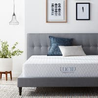 LUCID Comfort Collection 10-inch Full-size Plush Gel Memory Foam Mattress