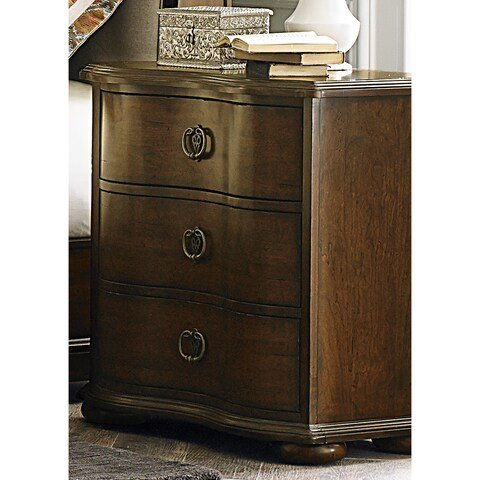 Gracewood Hollow Angelou Serpentine 3-drawer Nightstand