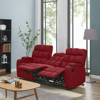 Buy Red, Microfiber Sofas & Couches Online at Overstock ...