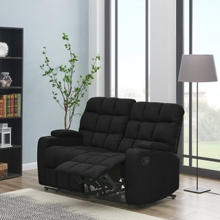 Link to Copper Grove Bielefeld Microfiber 2-seat Recliner Loveseat - 2 Seat - 2 Seat Similar Items in Sofas & Couches