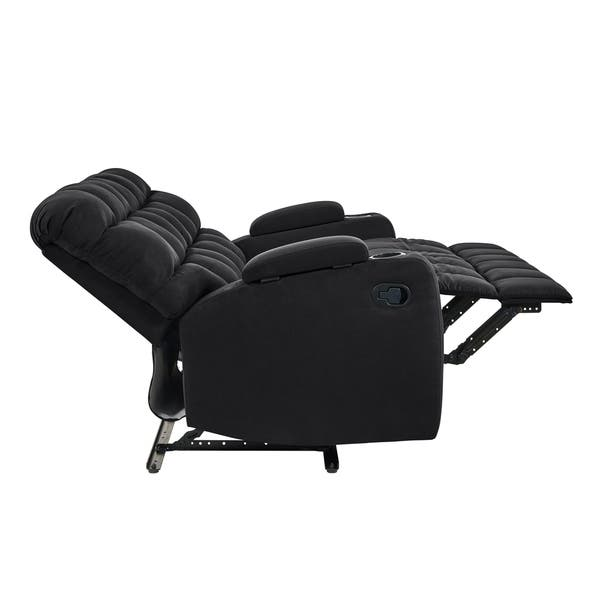 Copper Grove Bielefeld Microfiber 2 Seat Recliner Loveseat 2 Seat 2 Seat Overstock 20689845 Mocha Tan