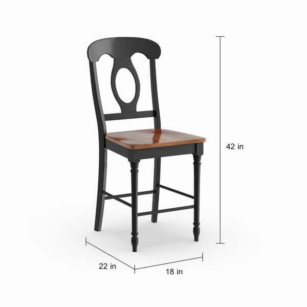Fantastic Shop Havenside Home Palmer Black And Bronze 24 Inch Counter Machost Co Dining Chair Design Ideas Machostcouk