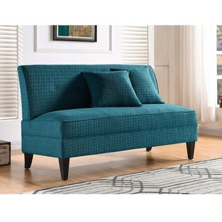 Link to Porch & Den Kensing Armless Loveseat Similar Items in Sofas & Couches