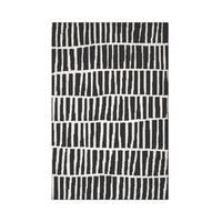 Carbon Loft McCoy Handmade Geometric Wool Black and White Area Rug - 6' x 9'