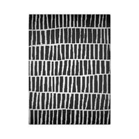 "Carbon Loft McCoy Handmade Geometric Wool Black and White Area Rug - 8'6"" x 11'6"""