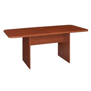 Clay Alder Home Gold Brook 6' Conference Table with No-Tools Assembly