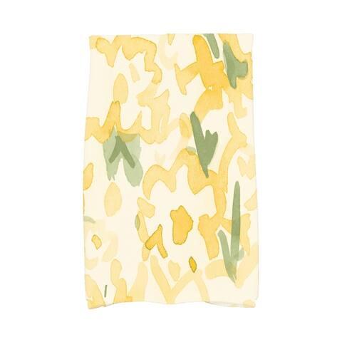 Gardenia 16x25 inch Floral Hand Towel