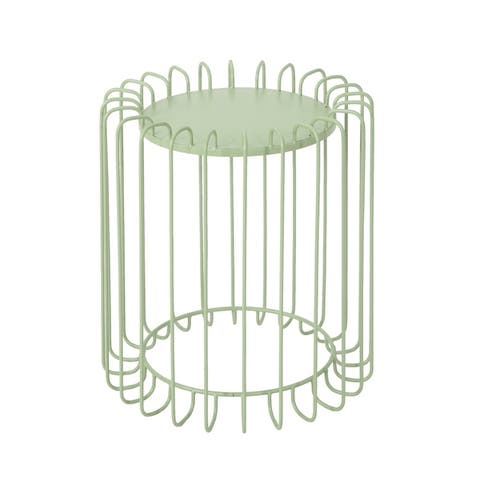 Sirinya 16-Inch Metal Side Table by Christopher Knight Home
