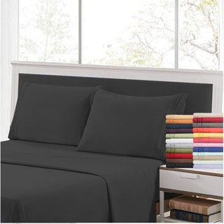 Link to Porch & Den Microfiber Bed Sheet Set With Embroidery Pillowcase 4Pcs Similar Items in Bed Sheets & Pillowcases