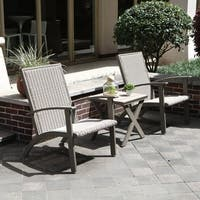 Grand patio Shakopee 3-Piece Outdoor Conversation Set - Grey