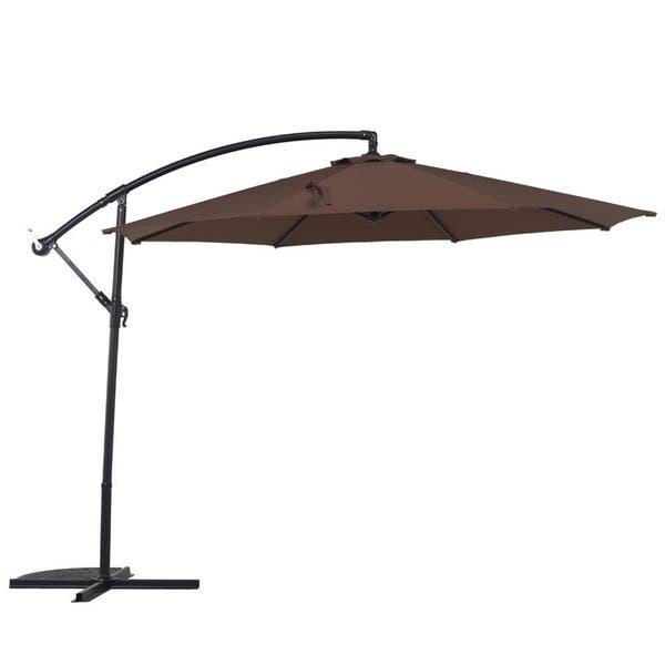 d9a10c872730 Shop Grand Patio 10 Ft Offset Cantilever Outdoor Patio Umbrella ...