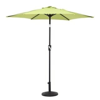 Grand patio 7.5 Ft UV Protective Outdoor Market Umbrella, Green