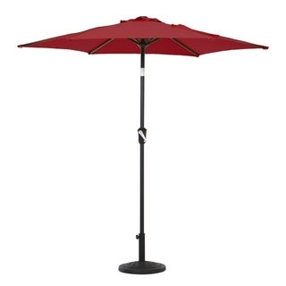 Grand patio 7.5 Ft UV Protective Outdoor Market Umbrella, Red