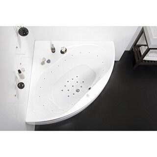 Aquatica Olivia-B White Relax Air Massage Bathtub