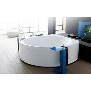 Aquatica Suri-Wht Relax Air Massage VelveX Bathtub - Fine Matte