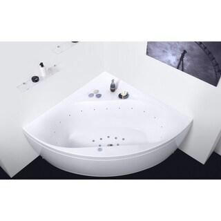 Aquatica Olivia-Wht Relax Air Massage Bathtub