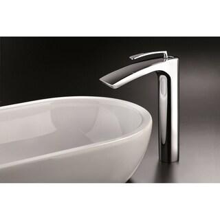 """Aquatica Bollicine 8.5"""" Sink Faucet (SKU-228) - Chrome"""