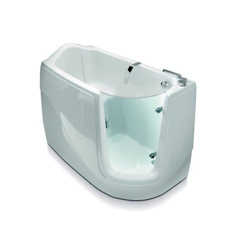 Aquatica Baby-Boomer Right Corner Soaking Walk-In Bathtub