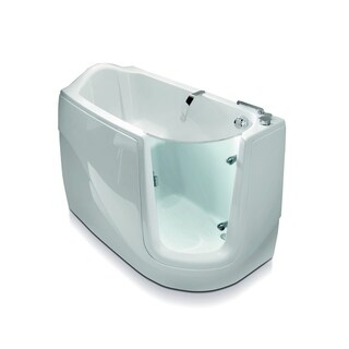 Aquatica Baby-Boomer-R Corner Soaking Walk-In Bathtub