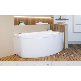 Aquatica Anette-B Left Corner Acrylic Bathtub