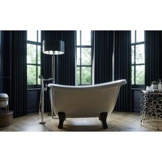 Aquatica Piccolo-Wht Freestanding Cast Stone Bathtub
