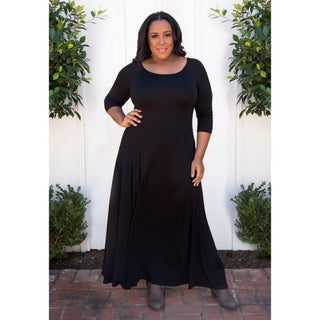 Sealed with a Kiss Women's Plus Size Daphne Maxi Dress (More options available)